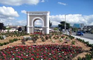 City of Alhambra Californien