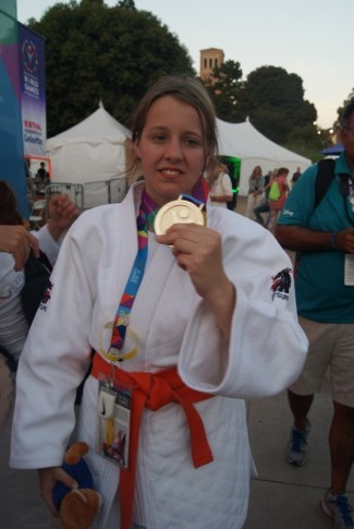 GOLD frü Jasmin Siebelitz