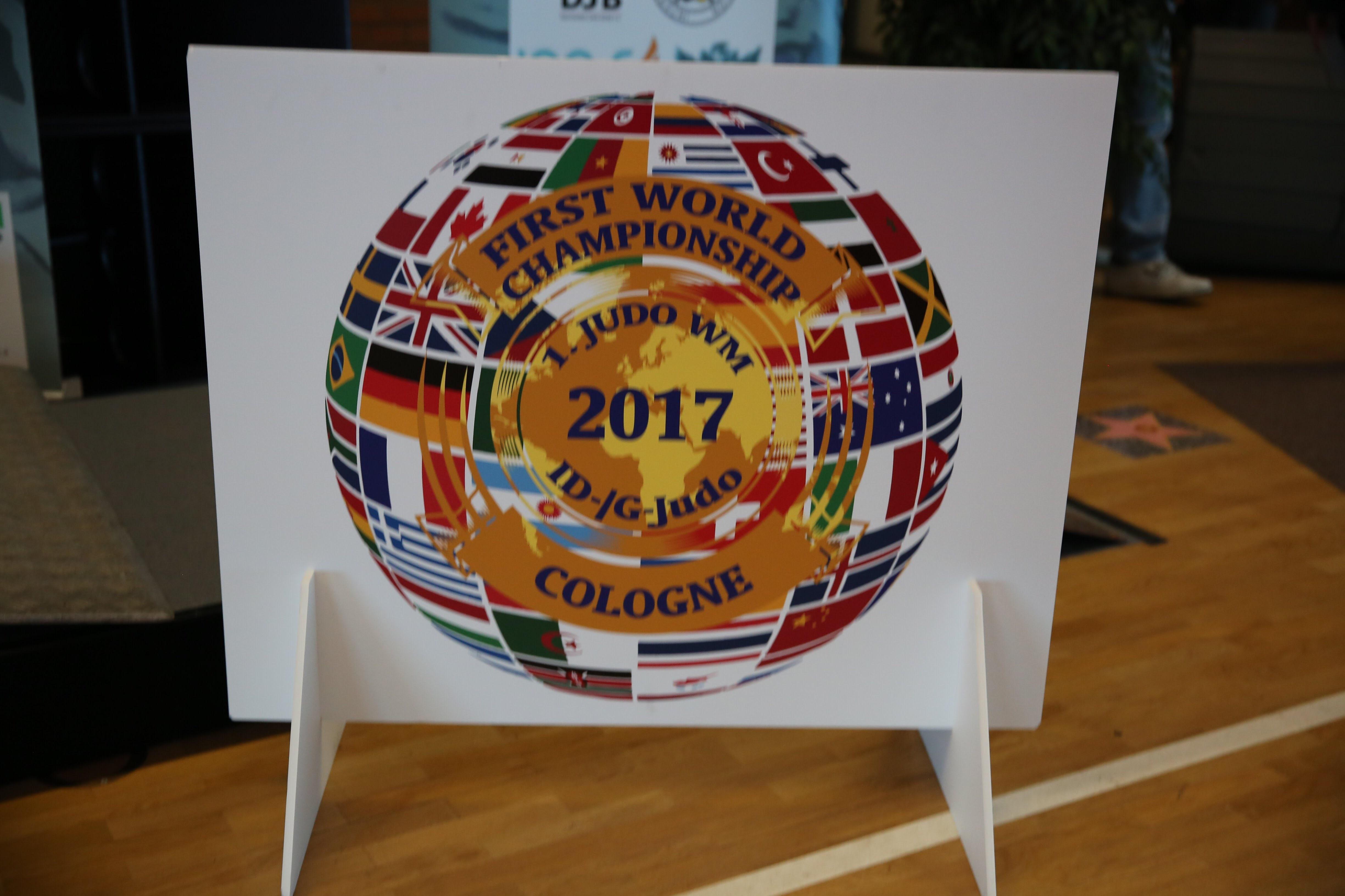 Die besten Foto Shoots von der 1. offiziellen Judo Weltmeisterschaft  Id-/G-Judo 19.-22.10.2017 in Köln