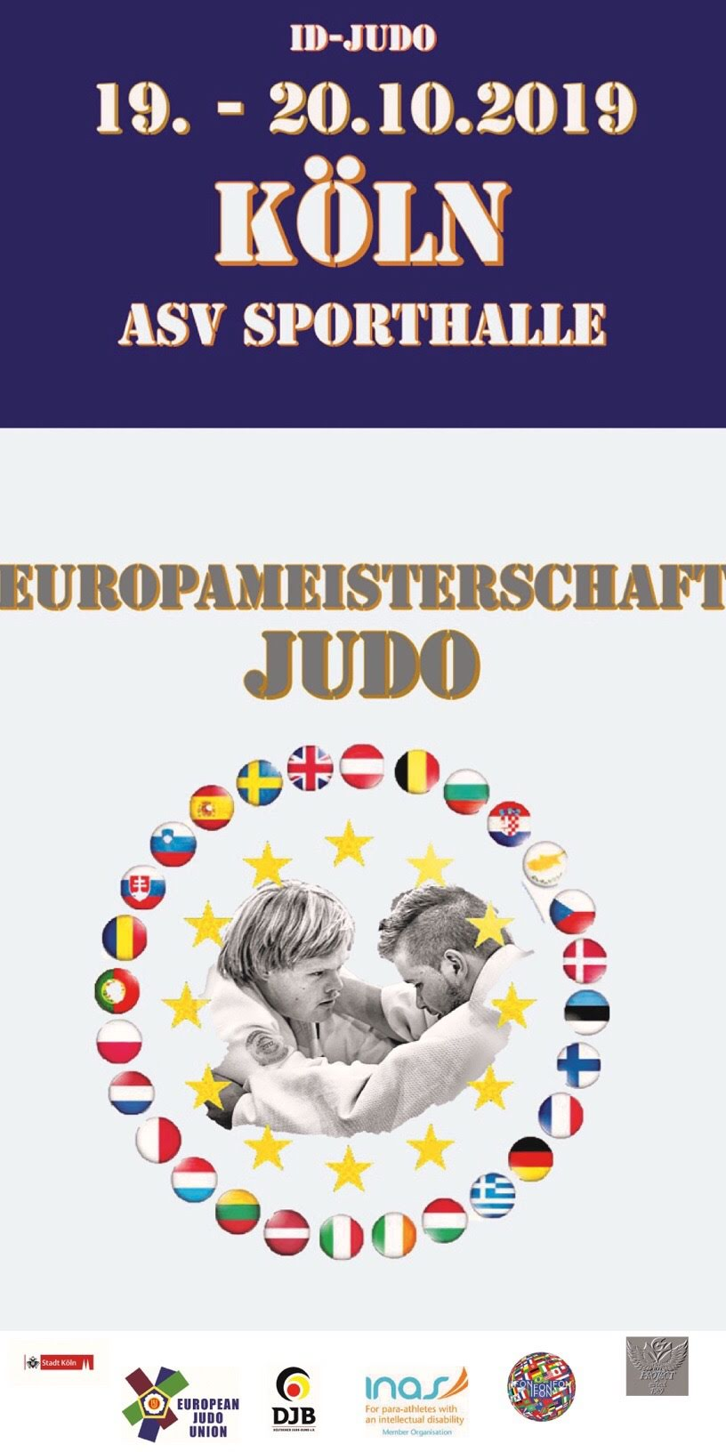 2019 – Judo Europameisterschaft   ID-Judo in Köln