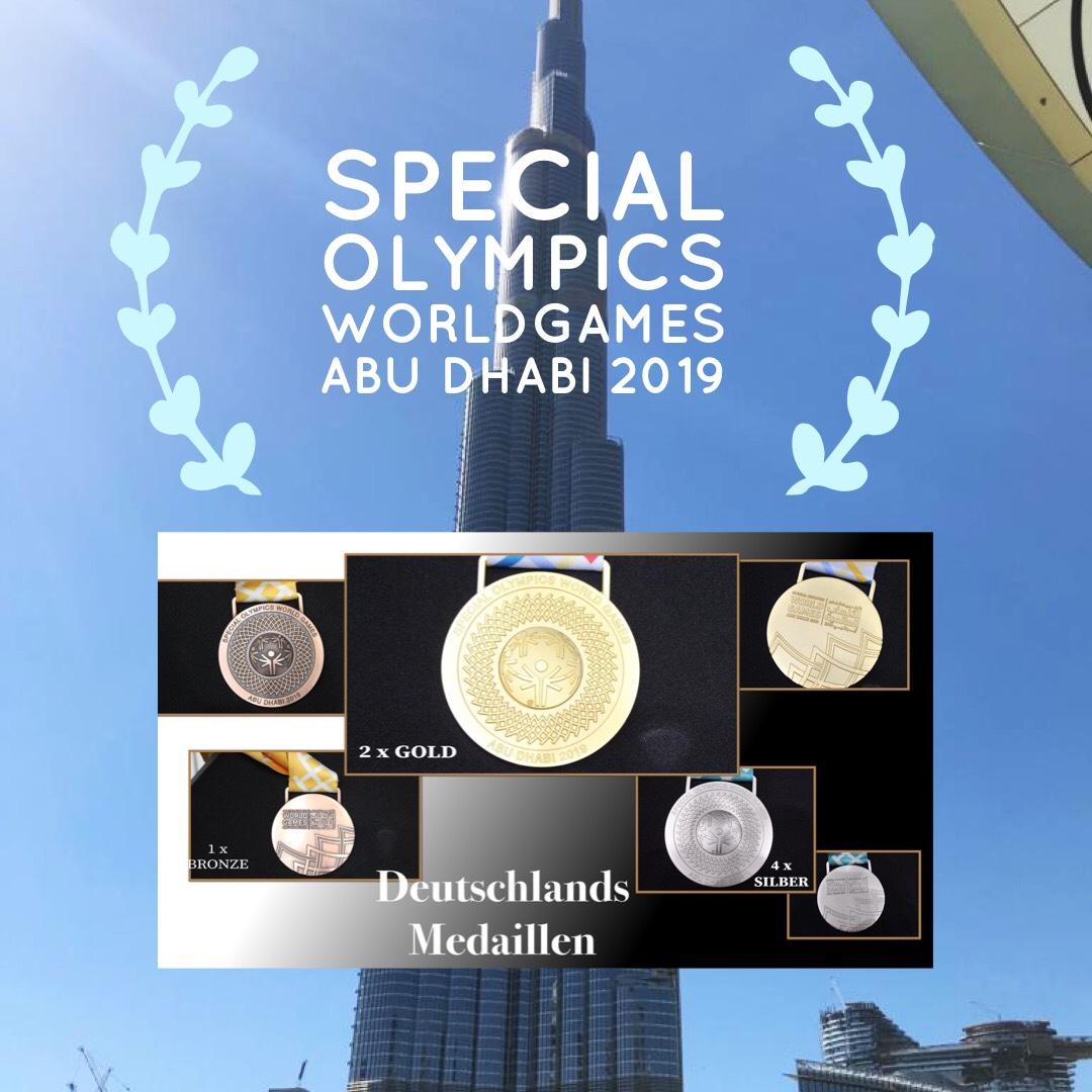 3. und letzter Wettkampftag Special Olympics World Games AbuDhabi 2019 Noch einmal Silber für Deutschland